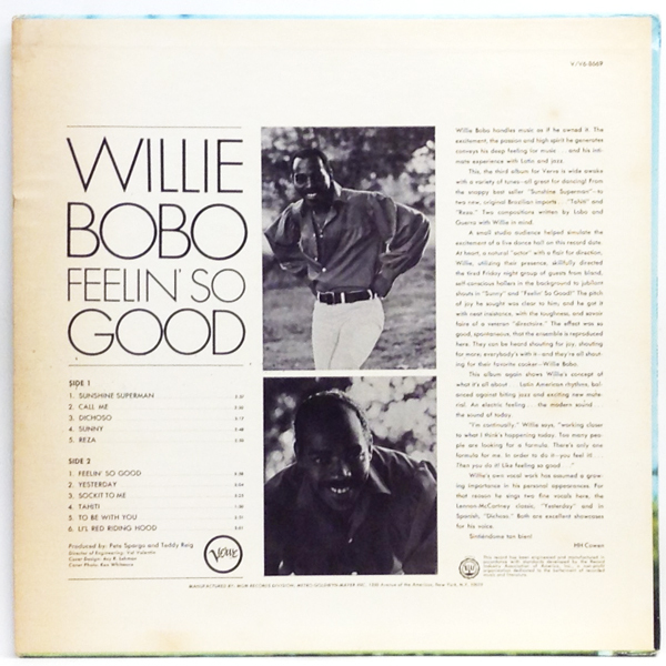 Willie Bobo - Feelin' So Good