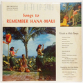 Songs To Remember Hana-Maui