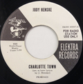 Charlotte Town / High Flying Bird (promotional 45rpm)