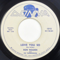 I Love You So / My Babe (1960 press)