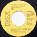 Be True To Your School (mono) / Be True To Your School  (stereo)