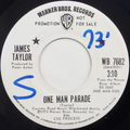One Man Parade / Nobody But You