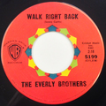 Walk Right Back / Ebony Eyes
