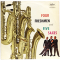 Four Freshmen And Five Saxes (UK press)